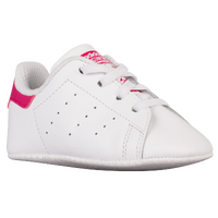 adidas Originals Stan Smith Crib - Boys' Toddler - White / Pink