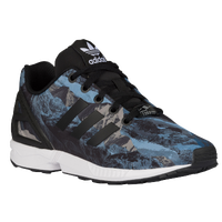 adidas Originals ZX Flux - Boys' Grade School - Black / Grey