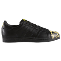 adidas Originals Superstar - Men's - Black / Yellow