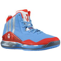 adidas J Wall - Boys' Grade School -  John Wall - Light Blue / Silver