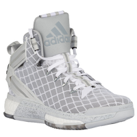 adidas D Rose 6 - Men's -  Derrick Rose - Grey / White