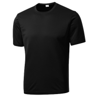 Sanmar Competitor T-Shirt - Men's - All Black / Black