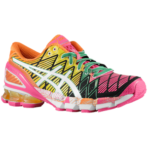 ASICS� GEL-Kinsei 5 - Women's - Black/White/Pink