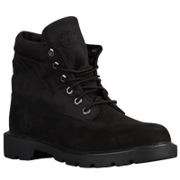 Timberland Roll-Top Boots - Boys' Grade School - All Black / Black