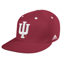 adidas College Onfield Baseball Hat - Men's - Indiana Hoosiers - Maroon / White