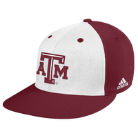 adidas College Onfield Baseball Hat - Men's - Texas A&M Aggies - Maroon / White