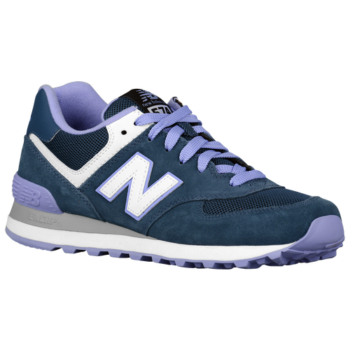 womens blue new balance 574