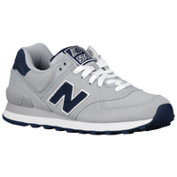 New Balance 574 - Women's - Grey / Navy