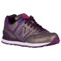 New Balance 574 - Women's - Purple / Pink