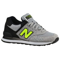 New Balance 574 - Women's - Grey / Black
