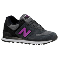 New Balance 574 - Women's - Grey / Purple