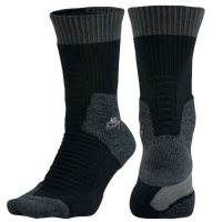 Nike SB Elite SB Skate Crew 2.0 Socks - Men's - Black / Grey