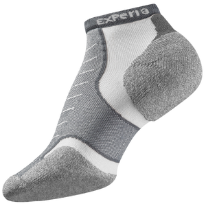 Thorlo Cushioned Heel Micro Mini Running Socks - Grey