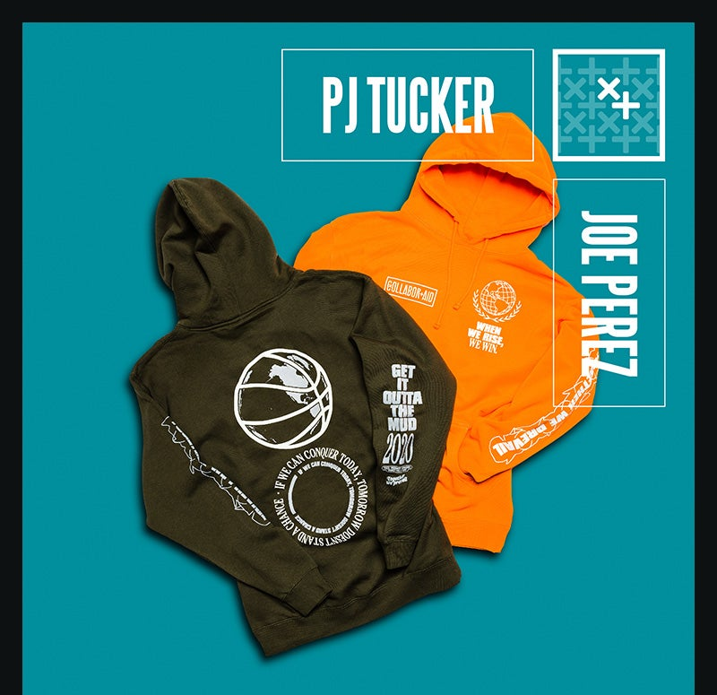 Shop the Collaboraid PJ Tucker x Joe Perez Collection