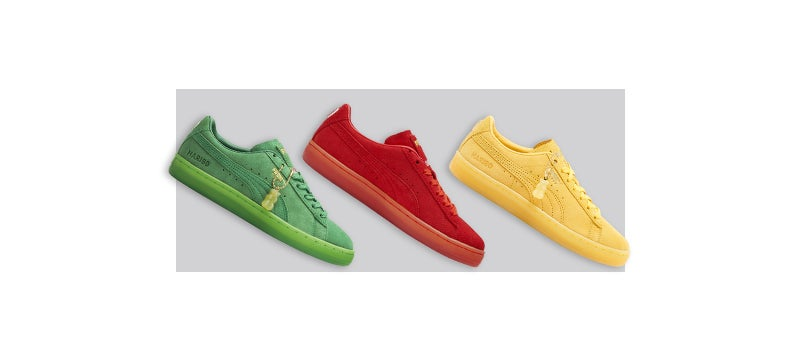 Shop the Kids Pick Of The Week: Puma Suede Haribo
