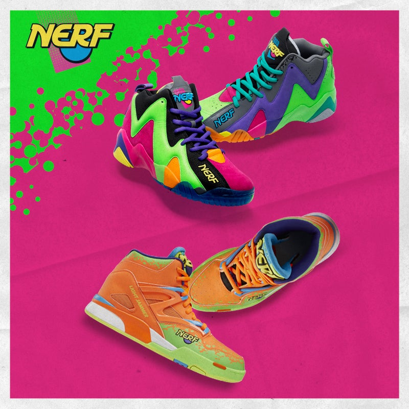 Shop Reebok X Nerf