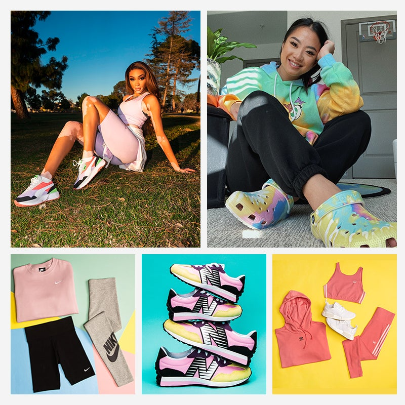 No matter the season, you always shine. Add springtime vibes to your fit with the Spring Flow Up Collection.