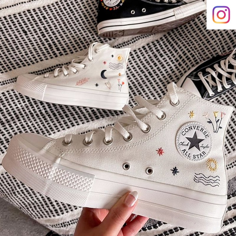 Shop Converse It's Ok To Wander Platform