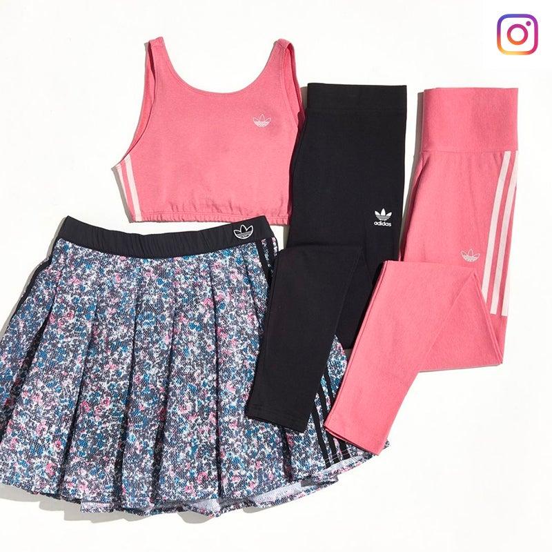 Shop adidas Originals Midi Skirt