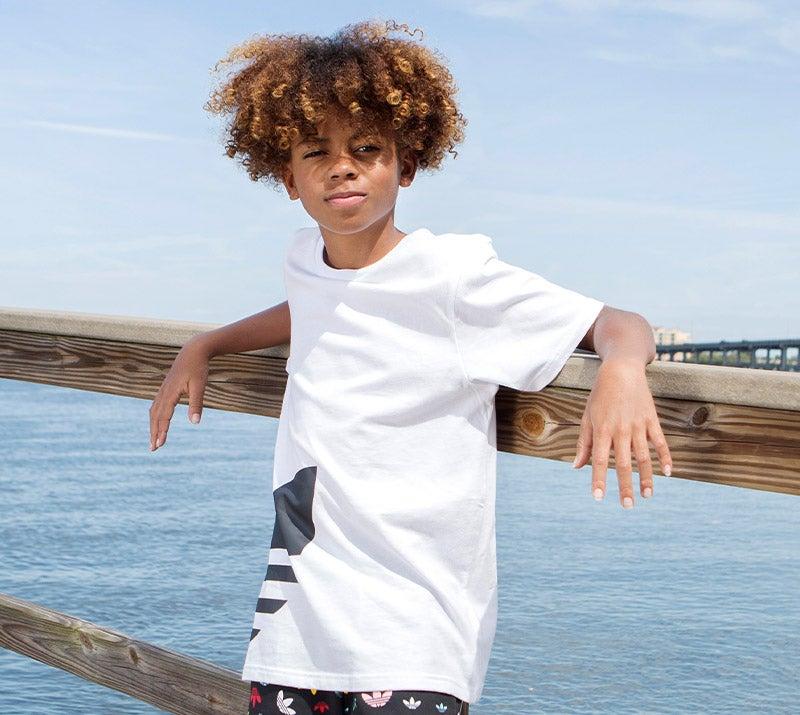 Shop all Kids' adidas Originals footwear and apparel.