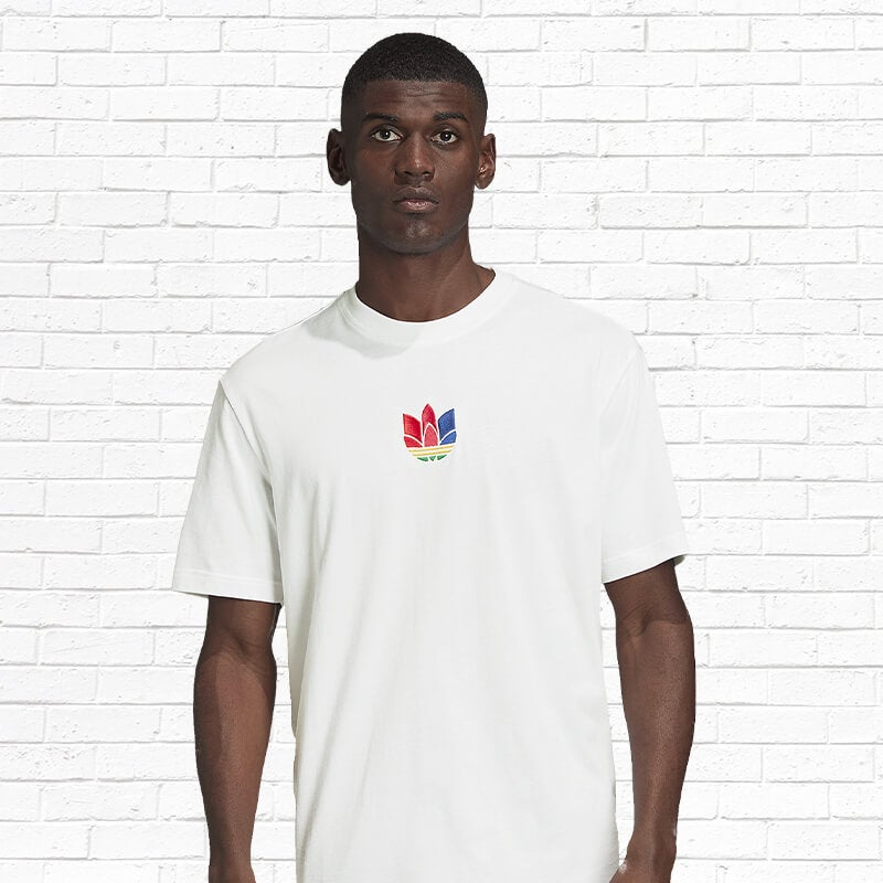 Shop the adidas Originals 3D Trefoil T-Shirt