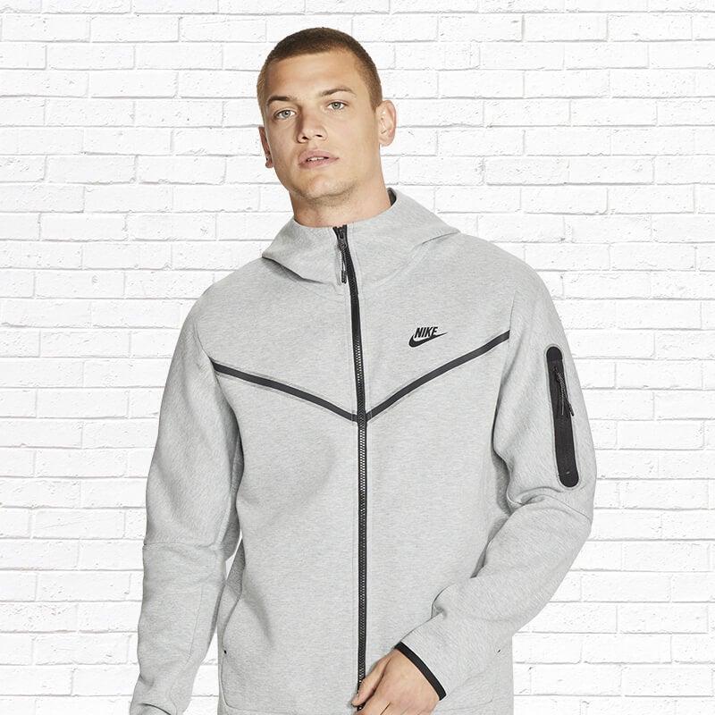 Shop the Nike Tech Fleece Full-Zip Hoodie
