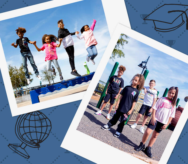 Shop the Kids' Back To School Collection