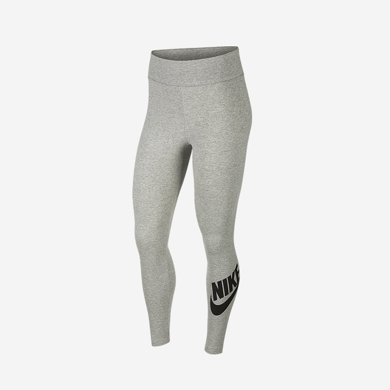 Shop the Women's Nike Leg-A-See High Waisted Legging in Grey
