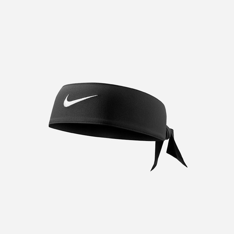 Shop the Nike Dri-FIT Head Tie 2.0 in black/white.