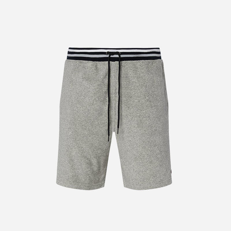 Shop the Men's Champion Terry Shorts in grey.