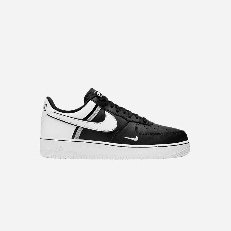 Shop the Men's Nike Air Force 1 LV8 in White/Black/Wolf Grey.