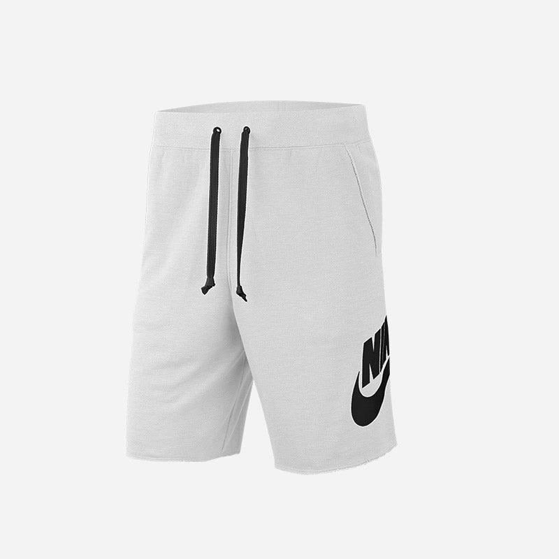 Shop the Men's Nike Alumni Shorts in white/black.