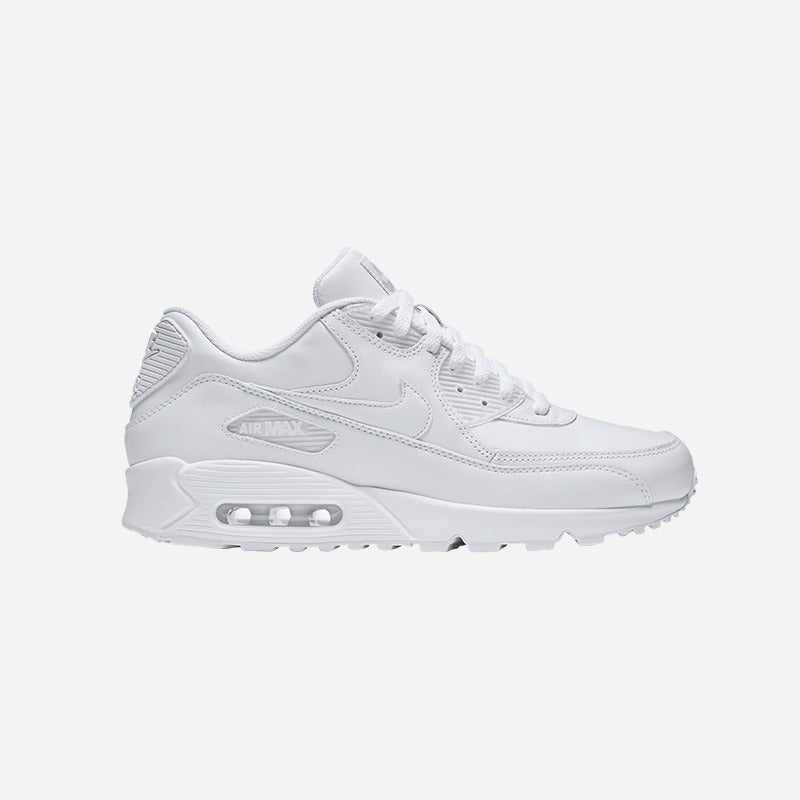 Shop the Men's Nike Air Max 90 in white.