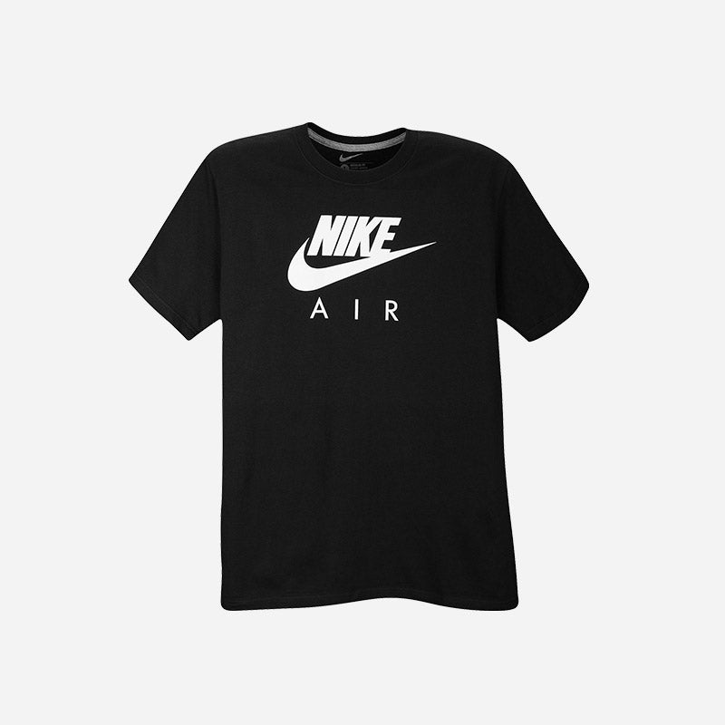 Shop the Men's Nike Air T-Shirt in black/white.