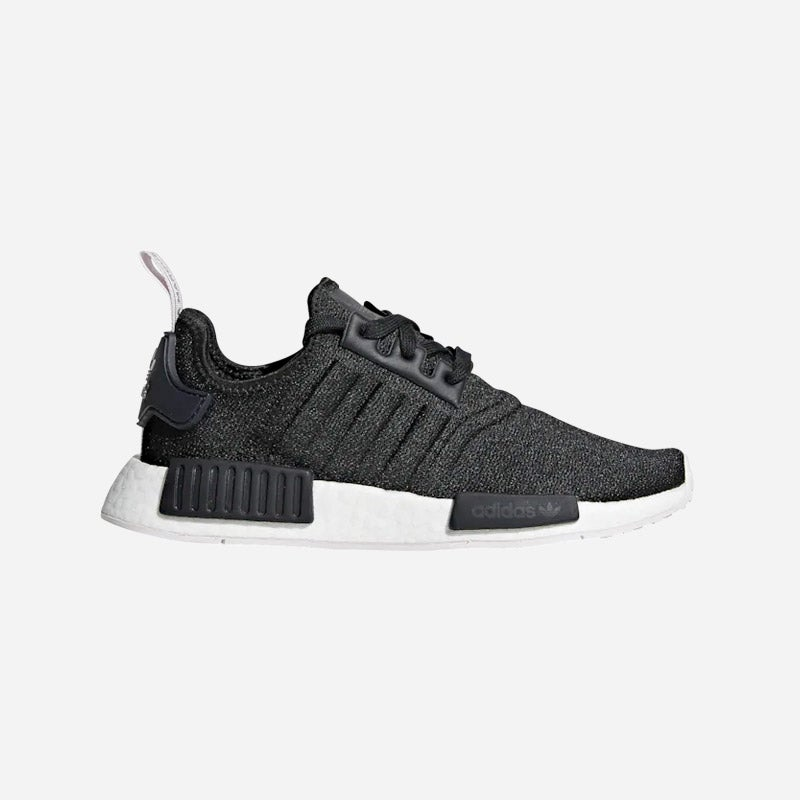 Shop the Women's adidas Originals NMD R1 in Black/Orchid Tint.
