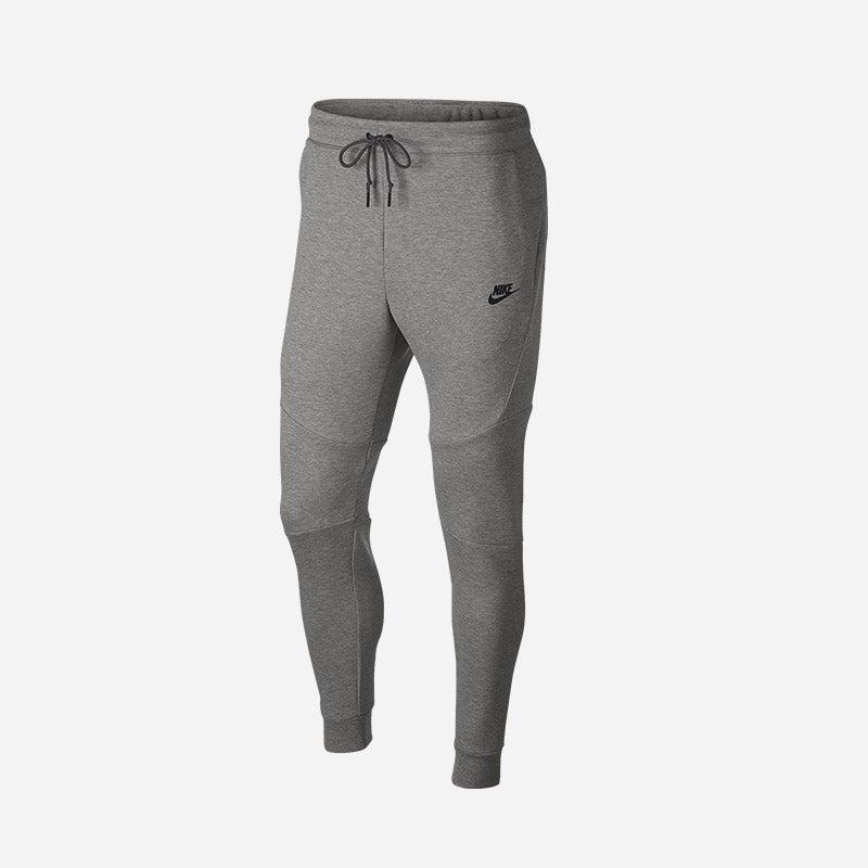 Shop the Men's Nike Tech Fleece Jogger in Dark Grey Heather/Black.