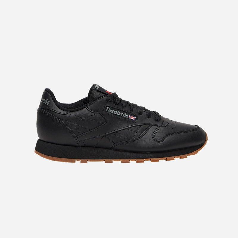 Shop the Men's Reebok Classic Leather in black/gum.