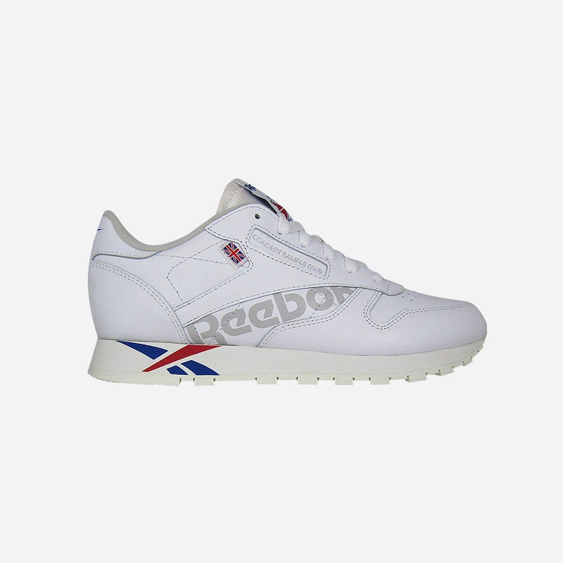 Shop the Women's Reebok Classic Leather Altered in White/Team Dark Royal/Excellent Red/Grey.