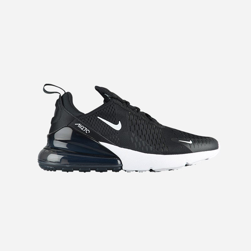 Shop the Women's Nike Air Max 270 in Black/Anthracite/White.