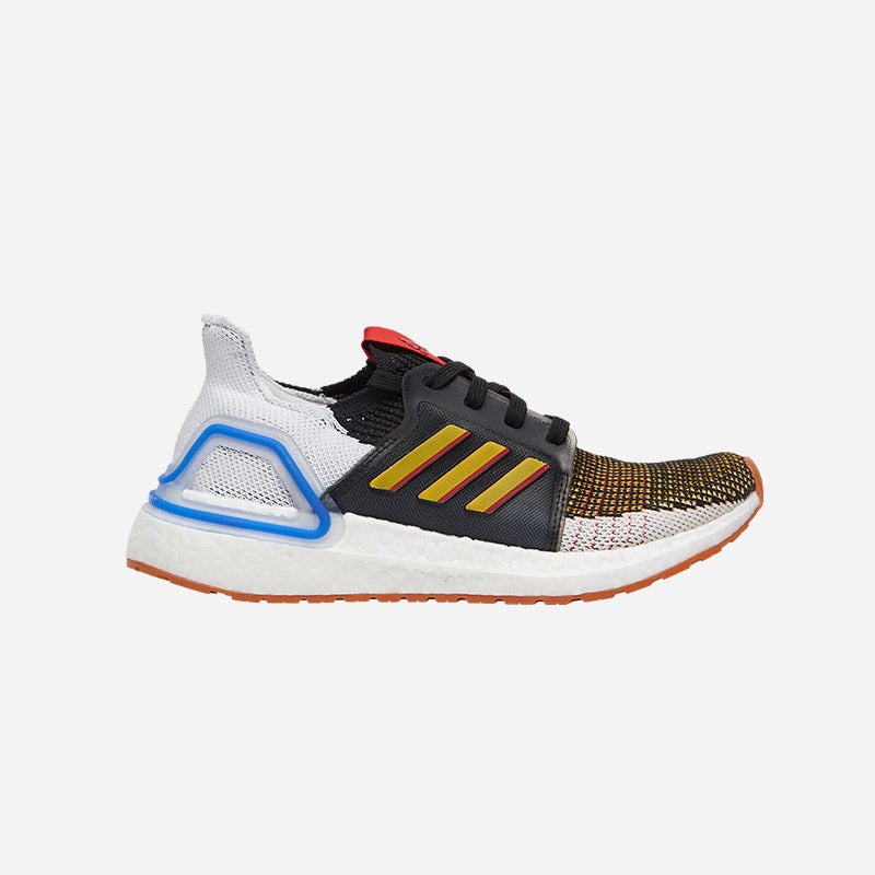 Shop the Boys' adidas Ultraboost 19 x Toy Story 4 in White/Black/Brown.   Woody