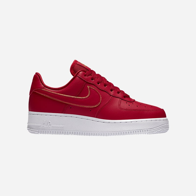 Shop the Women's Nike Air Force 1 '07 Low in Gym Red/White.