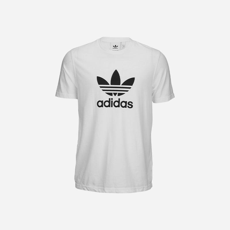 Shop the Men's adidas Originals Trefoil T-Shirt in White.