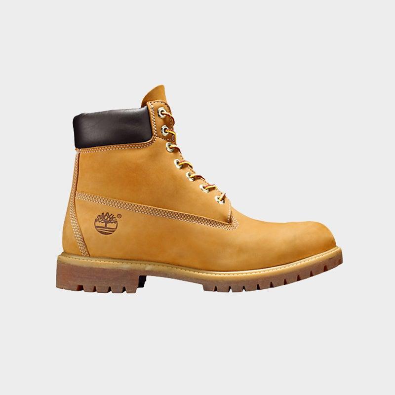 "Shop the Women's Timberland 6"" Premium Waterproof Boots in Wheat."