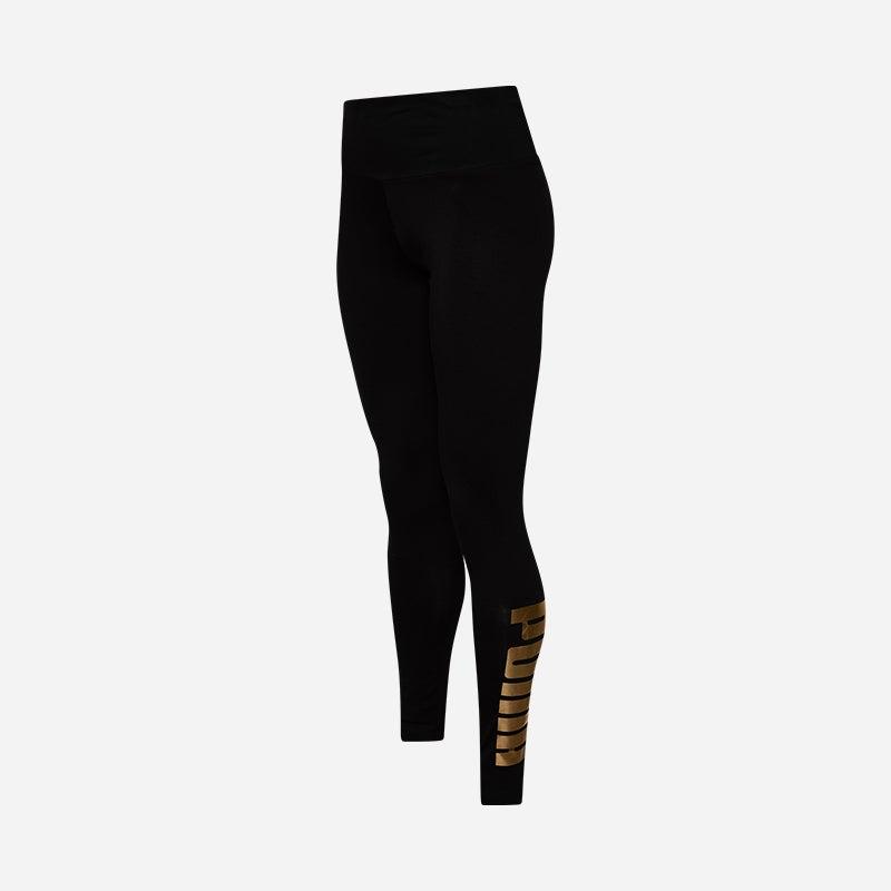 Shop the Women's PUMA Holiday Metallic Leggings in Black.