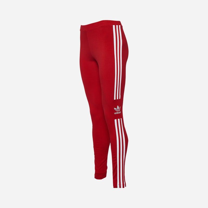Shop the Women's adidas Originals Adicolor New Trefoil Leggings in Scarlet/White.