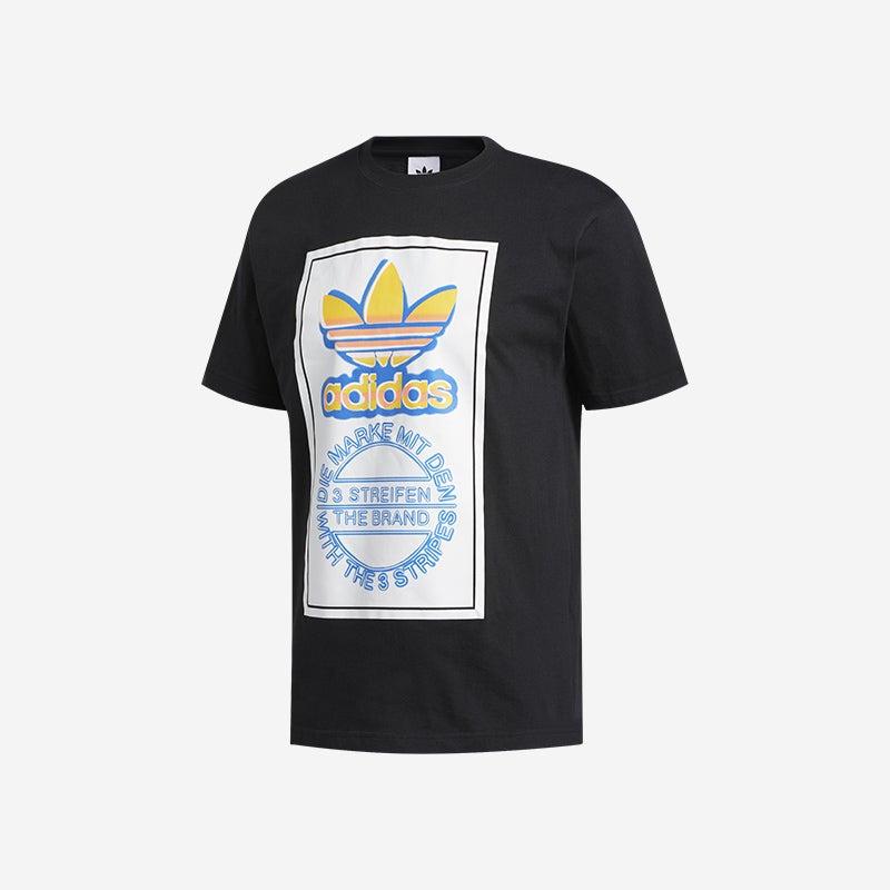 Shop the Men's adidas Originals Airbrush Trefoil T-Shirt