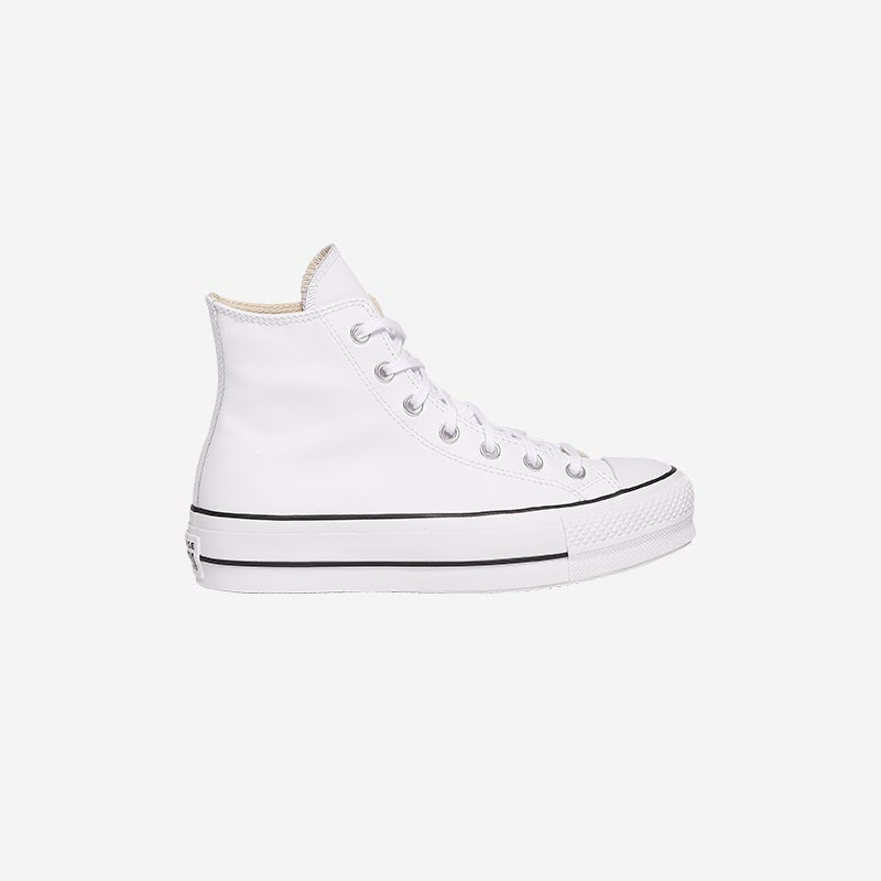 Shop The Converse All Star Lift Hi Leather