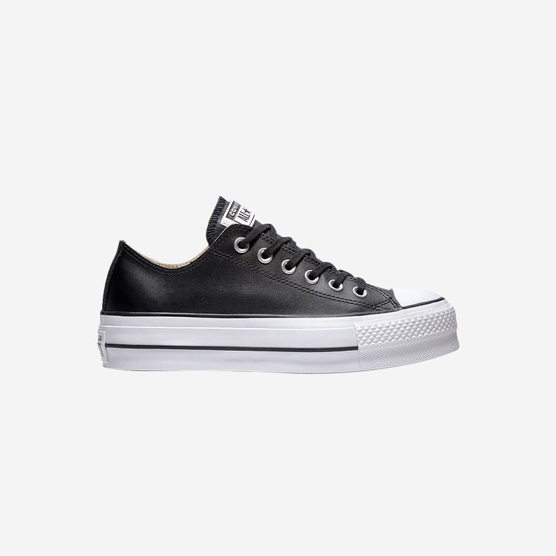 Shop the Converse All Star Lift Ox Leather Low