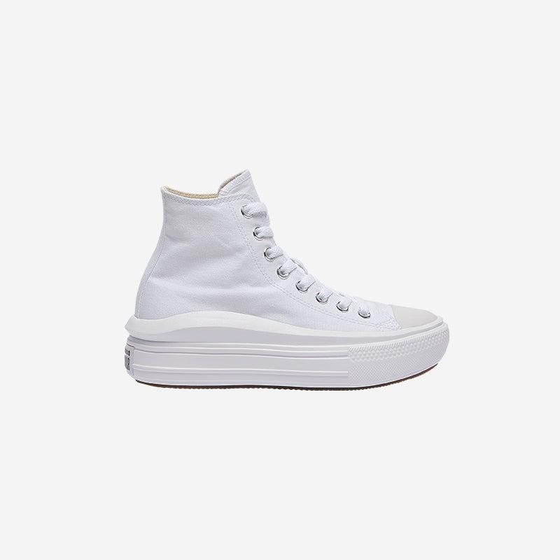 Shop The Converse All Star Move Platform Hi White