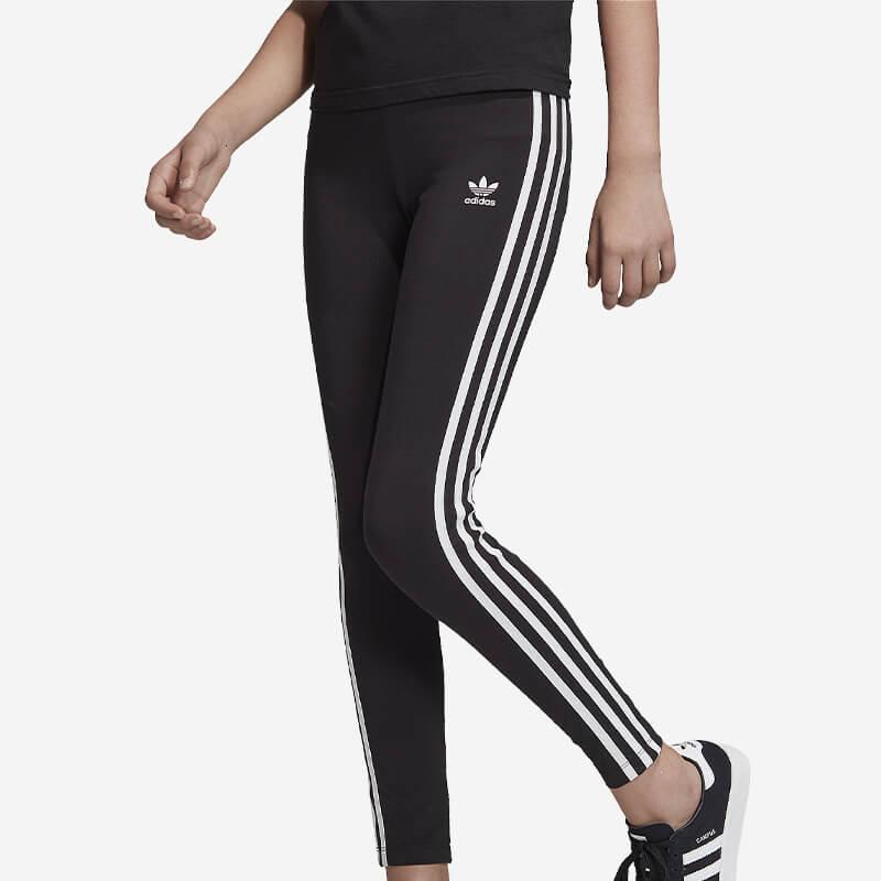 Shop the Girls adidas Originals 3 Stripes Leggings